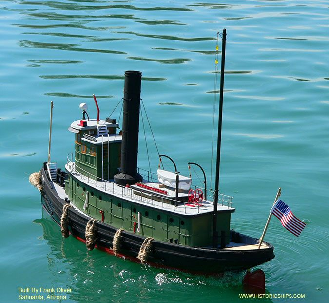 RC Model Tugs And Equipment