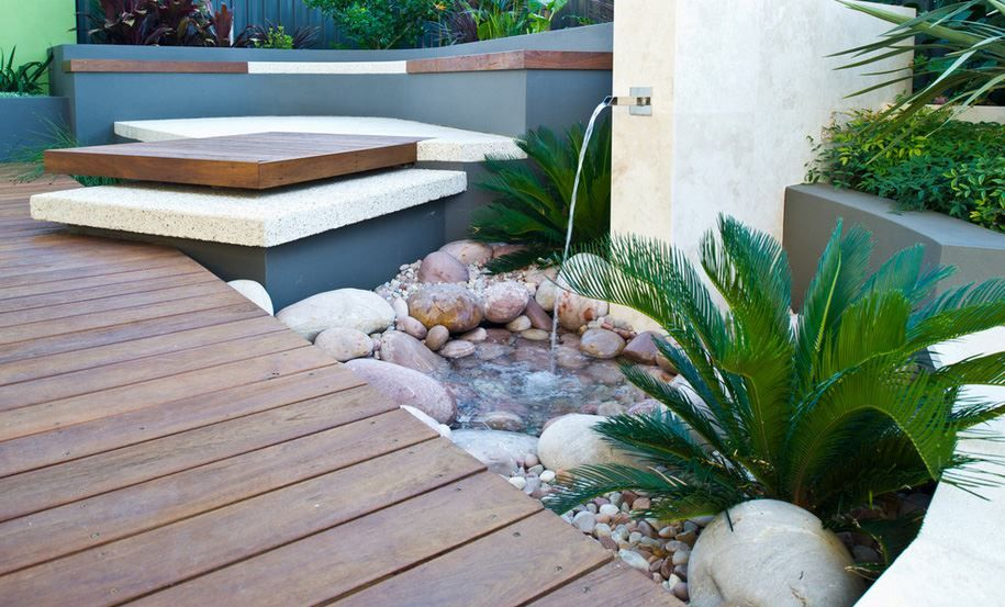 Stunning Backyard Landscape Design Idea