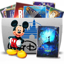 Descarga Icono Carpeta, tv, disney Gratis Disney, Iconos