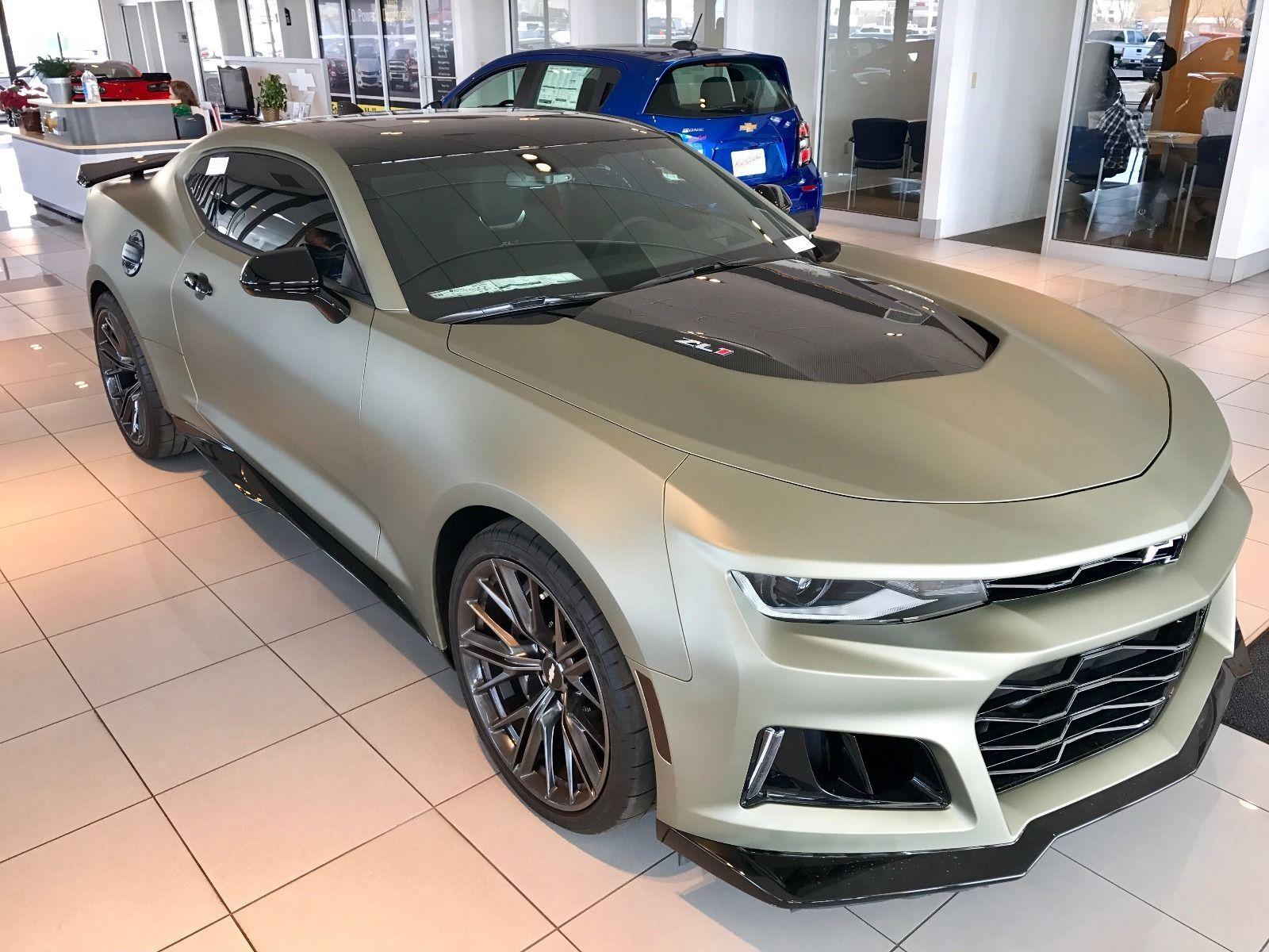 2017 Chevrolet Camaro Zl1 Ebay