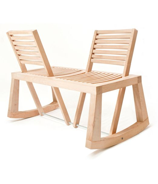 chlo de la chaise double view rocking chair for two. Black Bedroom Furniture Sets. Home Design Ideas