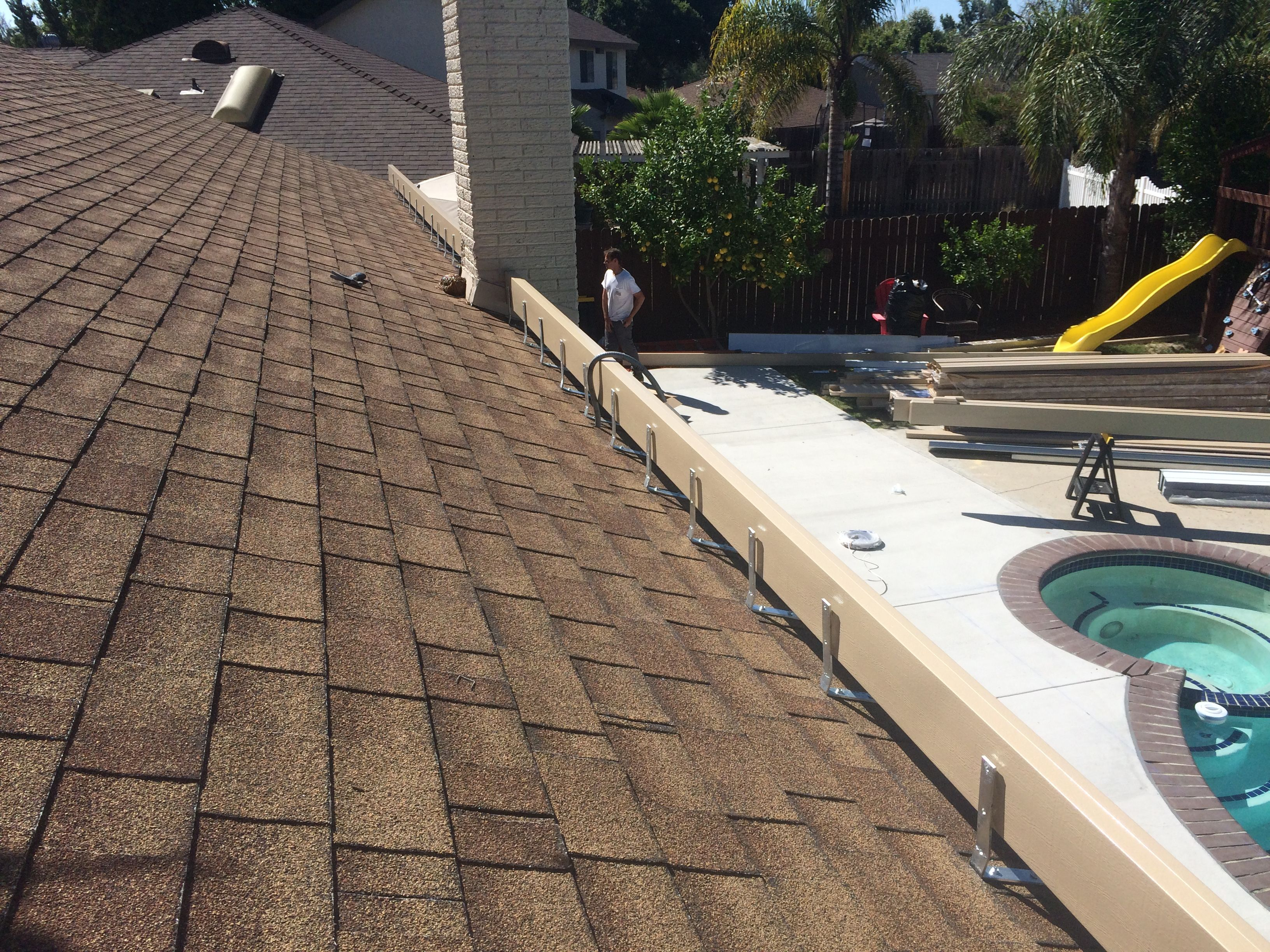 A Roof Ledger Can Be Build To Mount Alumawood Patio Covers To Get A Little More Height Out Of You Patio This Is A Good Idea Yo Patio Kits Covered Patio