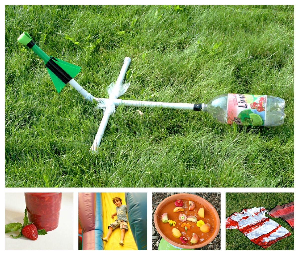 Water Bottle Rocket Craft: Craft, Interrupted: Fun Jar Friday #17: Bottle Rocket