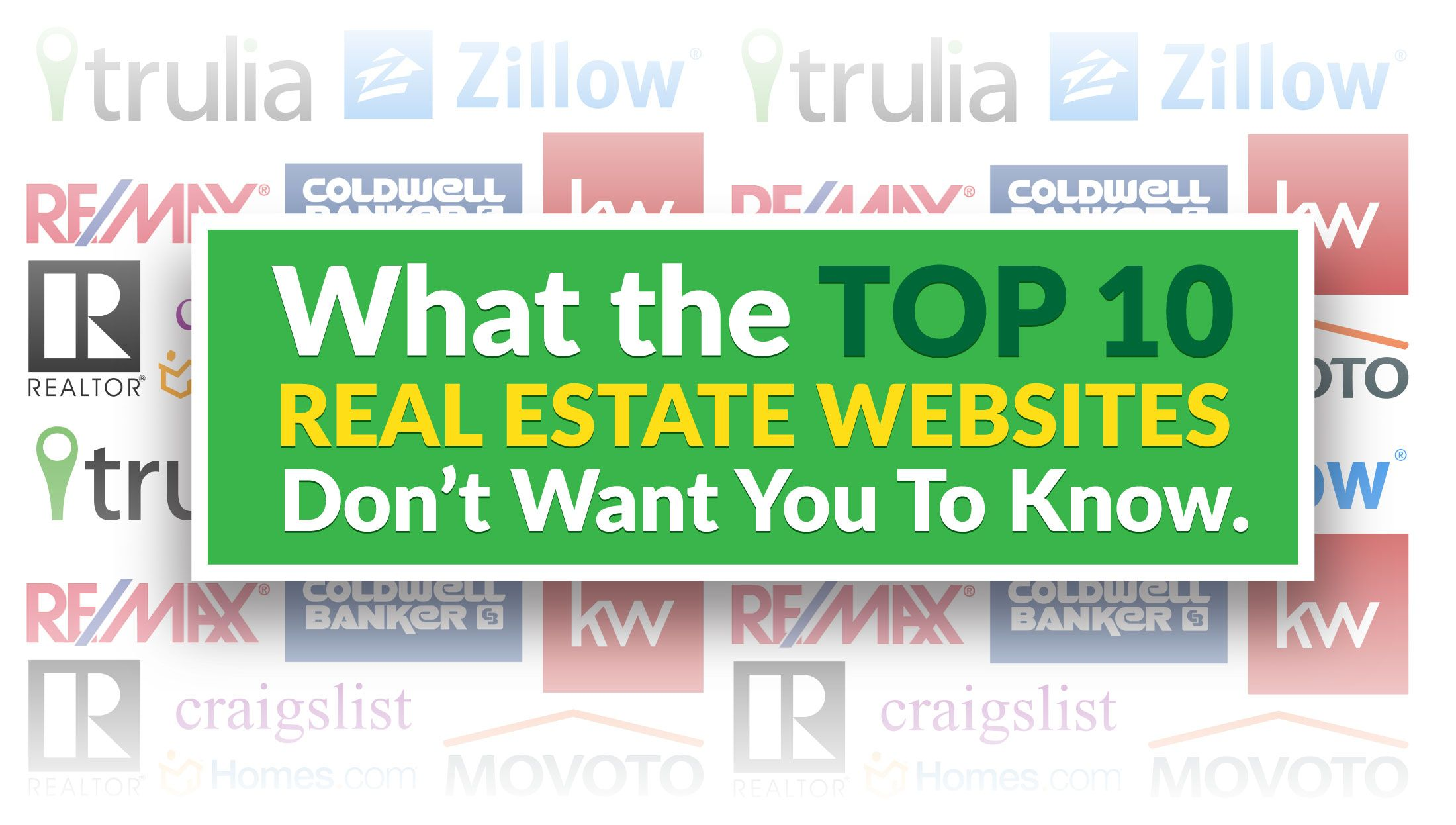 The Top 10 Real Estate Websites What They Know That You Don T Real Estate Website Real Estate Site Real Estate