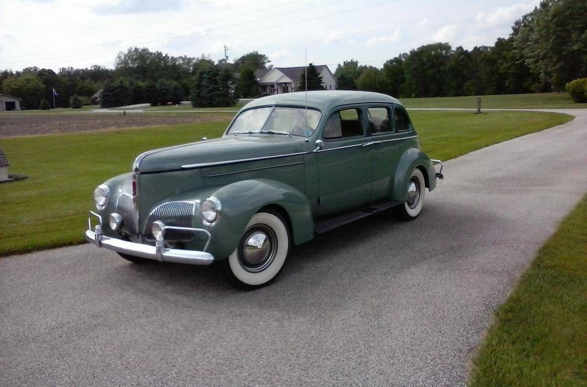 1940 Studebaker President Body Type 4S   VINTAGE CARS & CONCEPT CARS ...