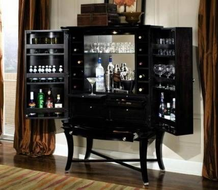Stylish Black Wood Home Bar Cabinet Ideas Choosing Bar Cabinets To Add  Stylish And Classy For
