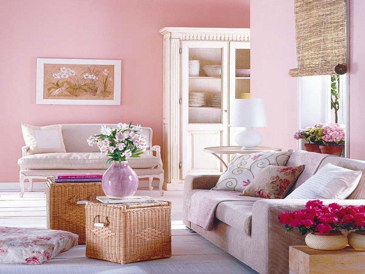 Pink Farbe Als Trendfarbe In Der Einrichtung