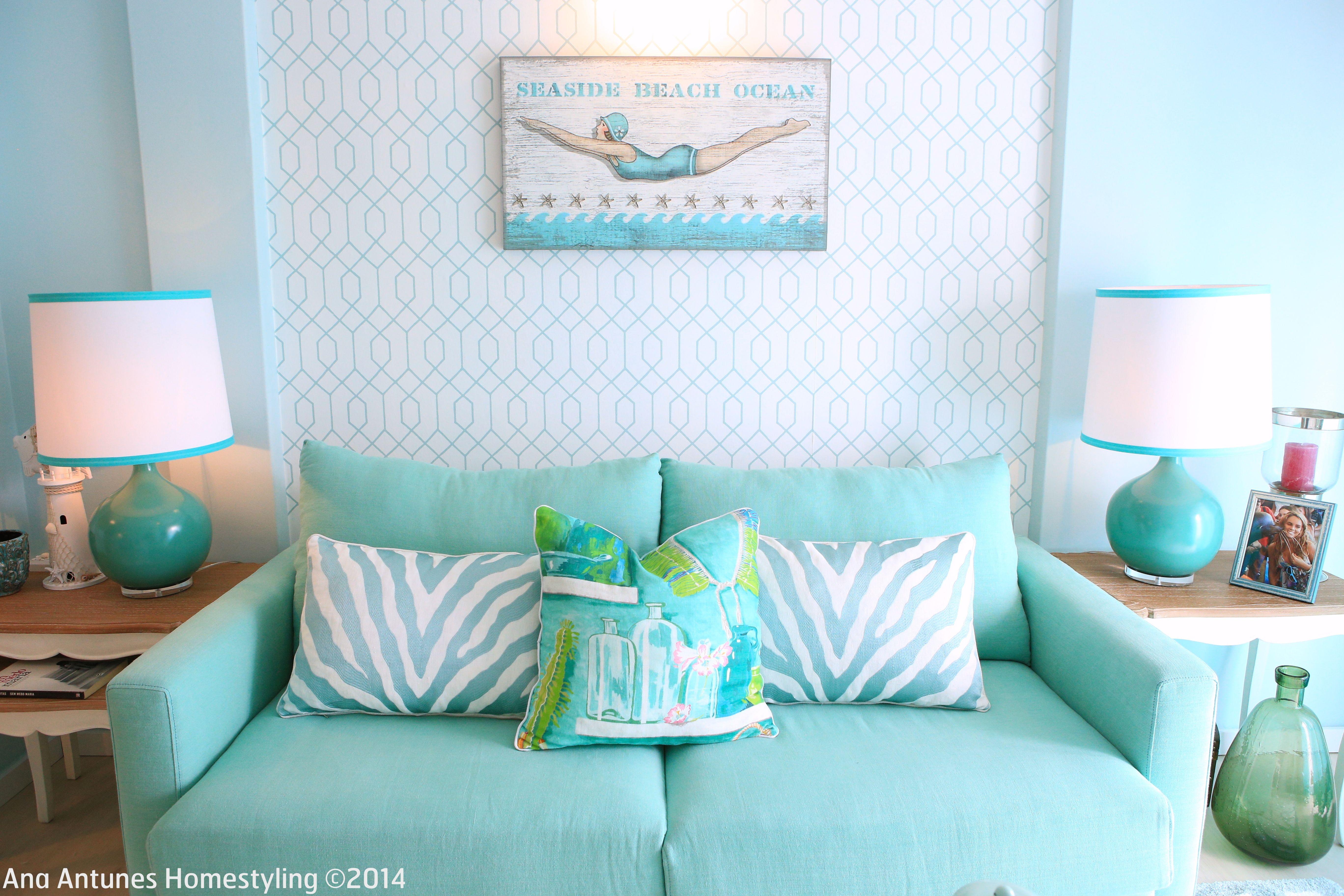 Coastal Inspired Beach House Seaside Inspired Turquoise