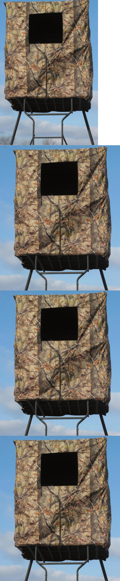 Hunting blind window ideas  blinds  universal  man tower stand camo deer turkey hunting