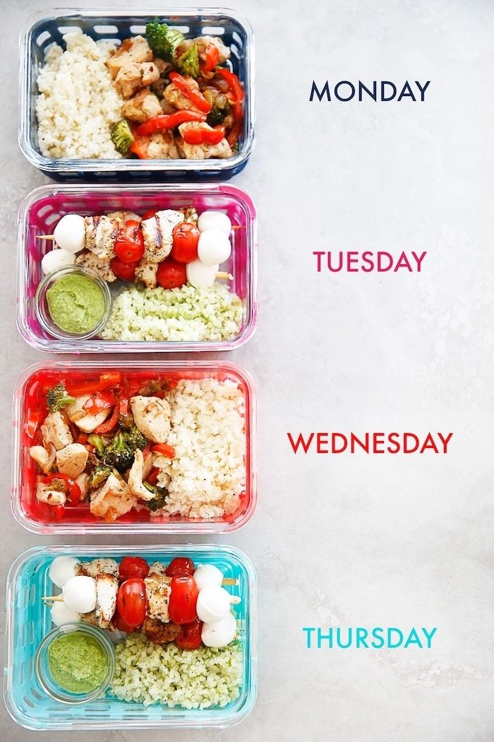 ▷ 1001+ meal prep ideas to get you into the healthy lifestyle