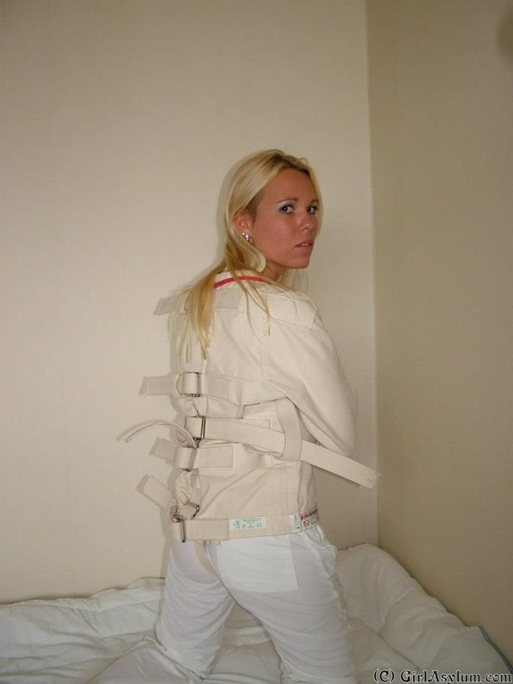 hospital women jacket Straight bondage