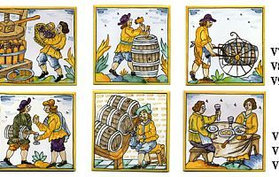 Cerámicas y azulejos decorados a mano - BENSU CERÁMICAS: Azulejos