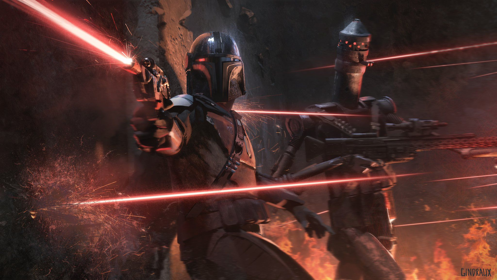 The Mandalorian On Star Wars Art Mandalorian Concept Art