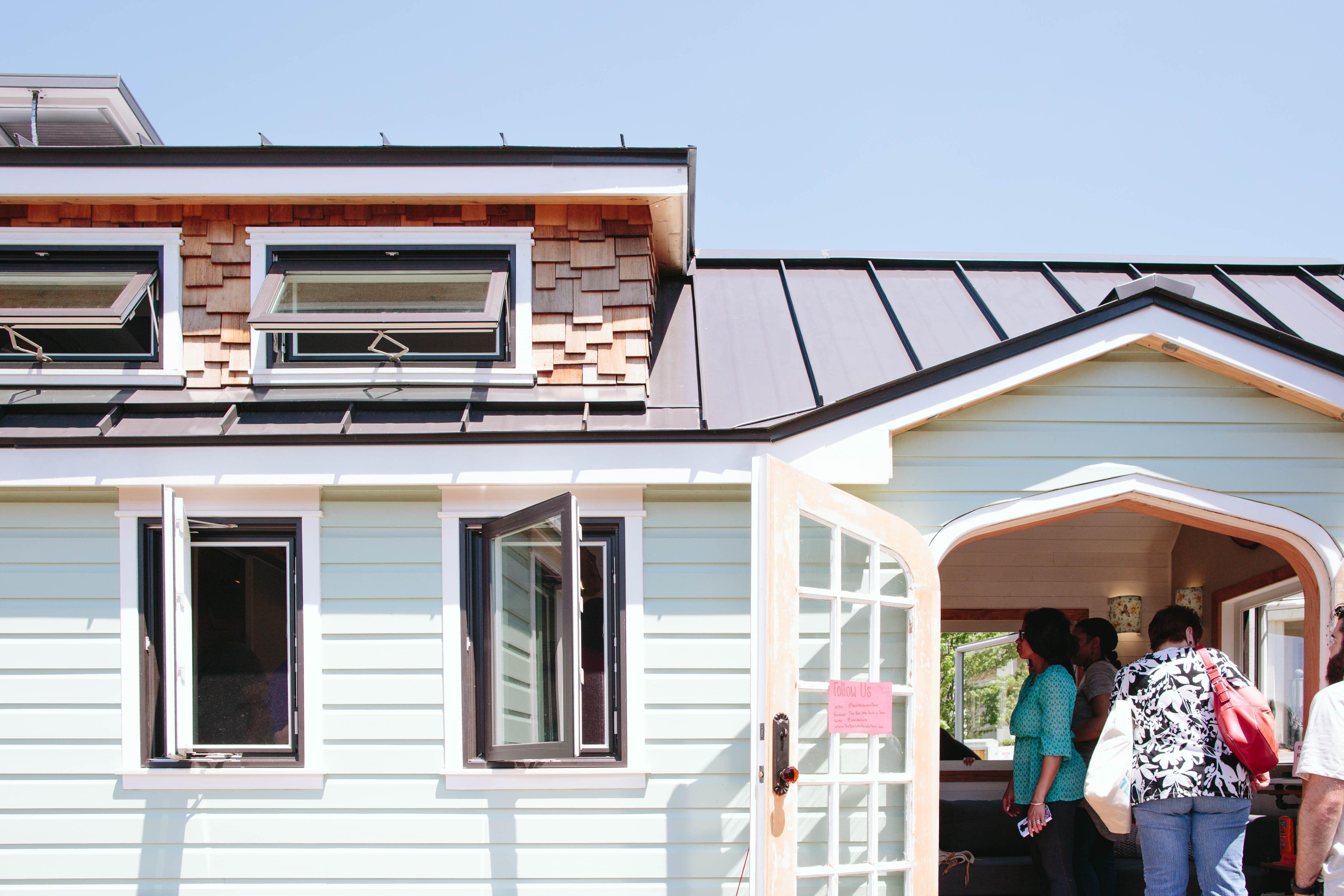 adorable tiny homes texas. Look Inside the Adorable Tiny Homes at Fair Park s Earth Day Texas  Slideshow Photos