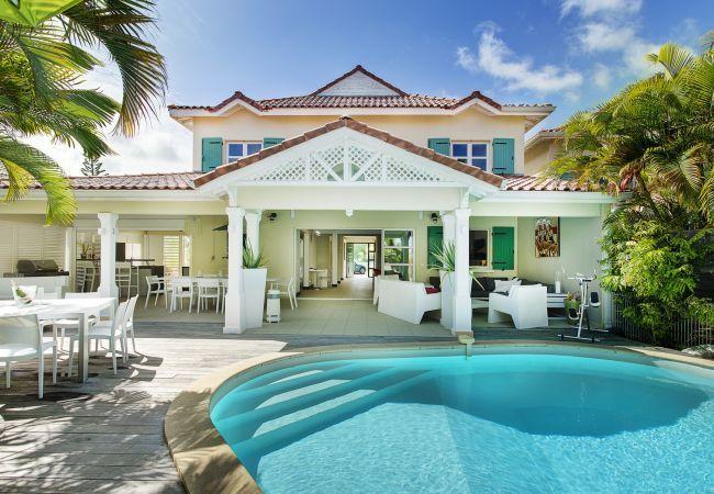 Villa Champagne Guadeloupe - 4 BR luxury villa in St Francois Guadeloupe