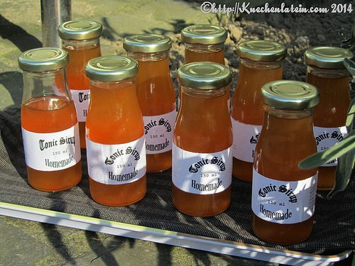 ©Tonic-Sirup homemade nach Morgenthaler (1) by ostwestwind, via Flickr