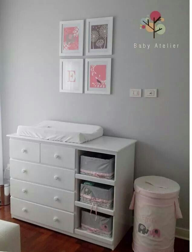 Cambiador | Sky Zoe\'s room | Pinterest | Babies, Room and Nursery