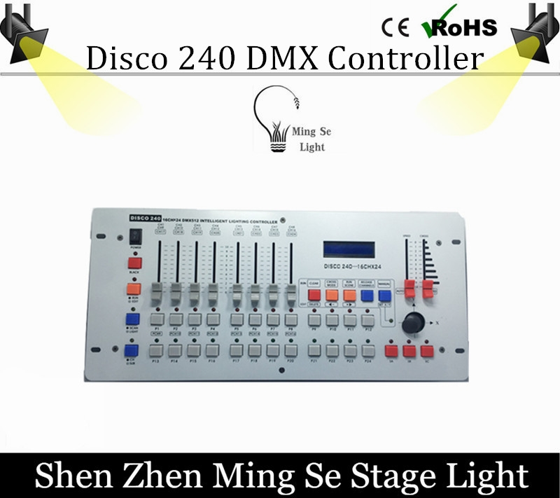 76.50$  Buy now - http://aligj6.worldwells.pw/go.php?t=32736008137 - Hot sale International standard DMX 240 controller controller moving head beam light console DJ 512 dmx controller equipment 76.50$