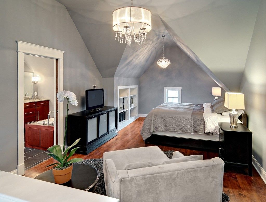 attics converted into master bedroom | Attic Remodel to a Bedroom and  Bathroom Conversion - Design