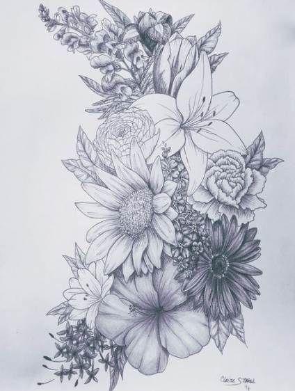 Photo of 40 Trendy tattoo thigh sunflower lilies