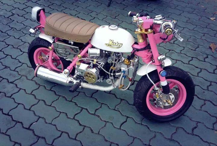 Honda Monkey Mini Bike Japanese Motorcycle Bike