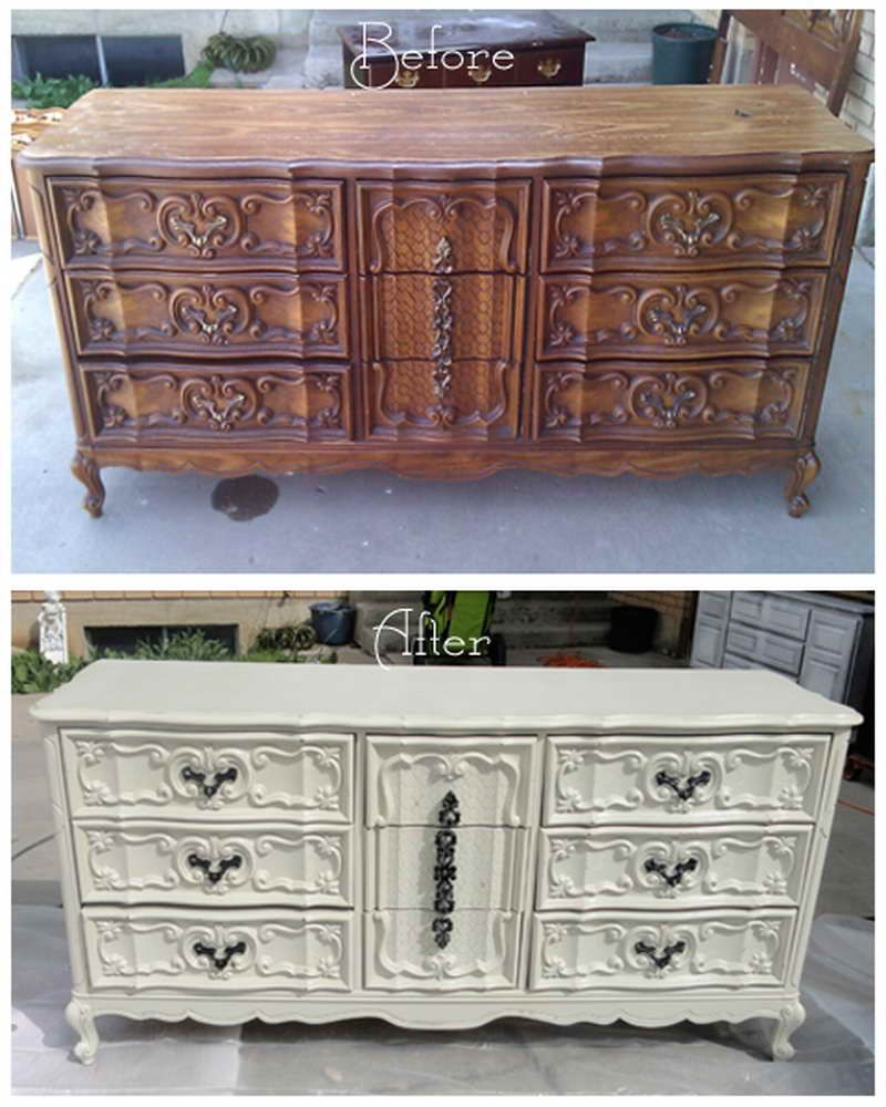 diy before and after furniture photography above is segment of