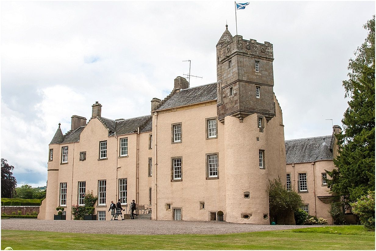 Myres Castle Nestled In The Kingdom Of Fife The Pretty Castle Was