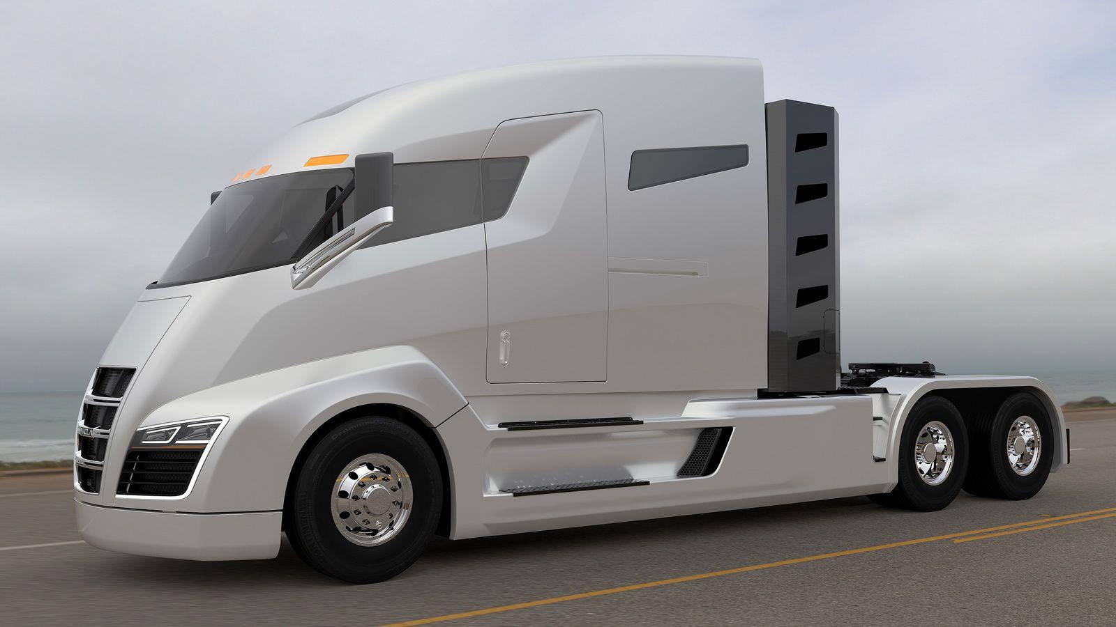 Empresa apresenta caminhão híbrido com autonomia de mais de 1.900 km
