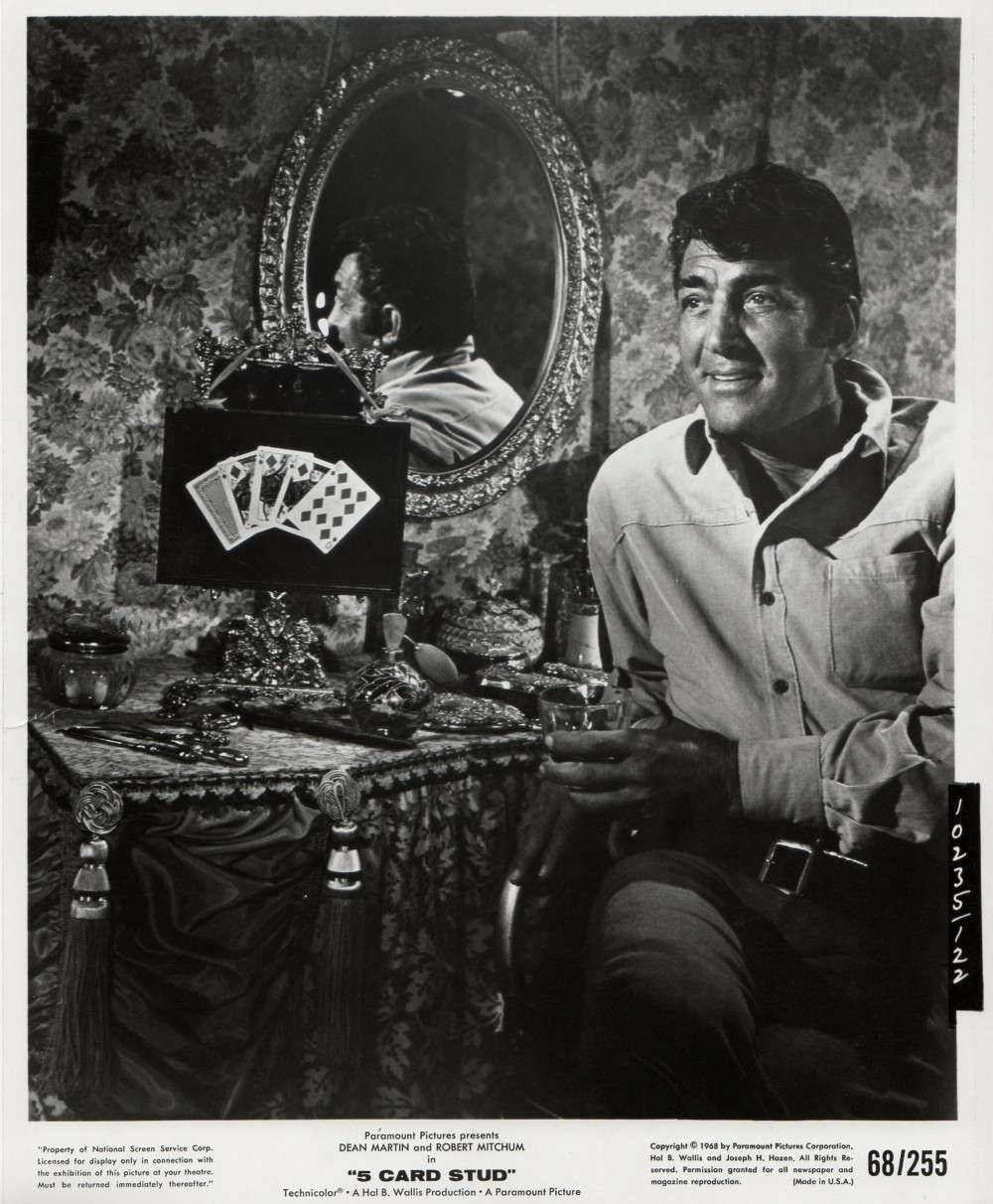 Dean Martin In 5 Card Stud 1968