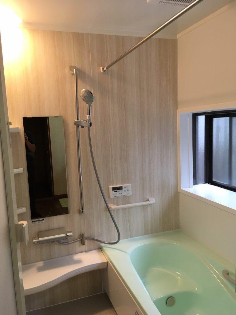 初現場 在来浴室をユニットバスに Lixil アライズ ユニットバス アライズ 浴室リフォーム