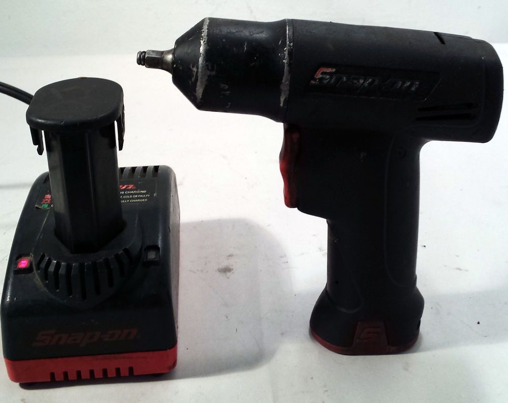 Snap On Tools 3 8 Drive 7 2v Cordless Impact Wrench Ct661 W Battery Ebay Link