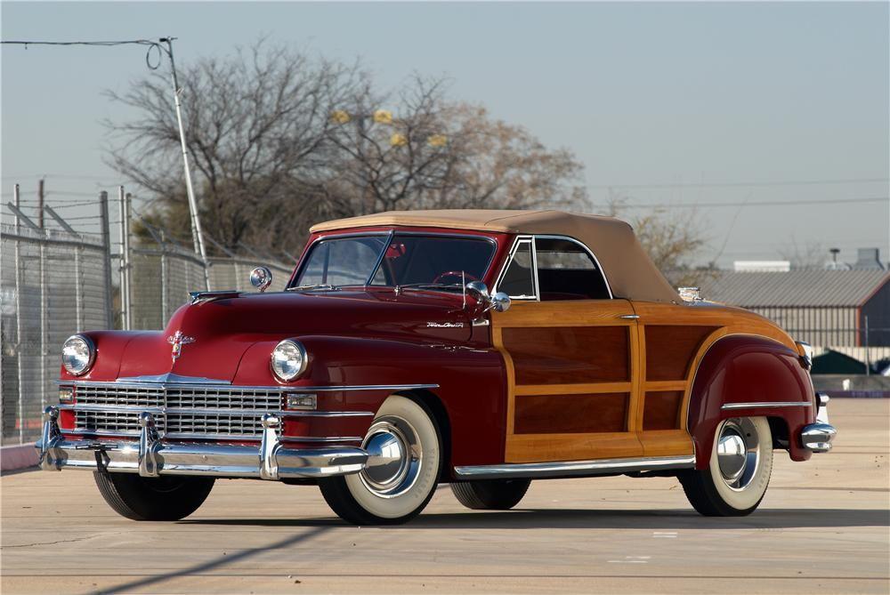 1946 Chrysler Town Country Lot 7003 Barrett Jackson Auction