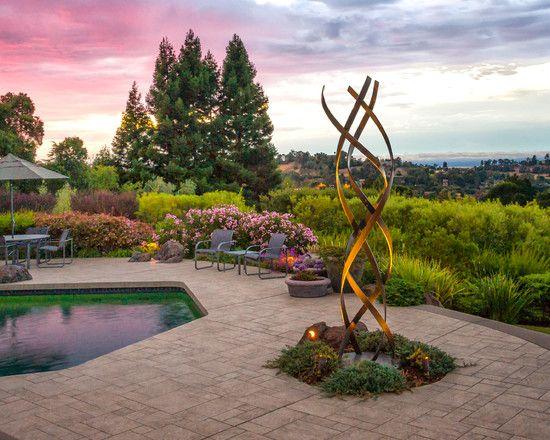 Outdoor sculpture is beautiful