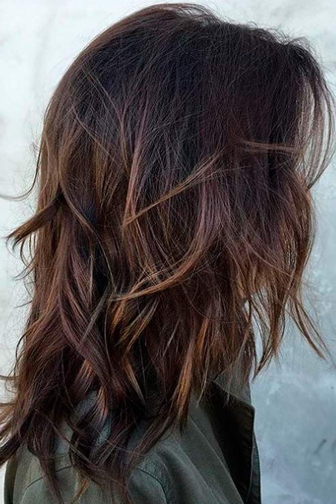 Shoulder Length Layered Hairstyles 18 Chic Medium Length Layered Hair  Pinterest  Medium Length