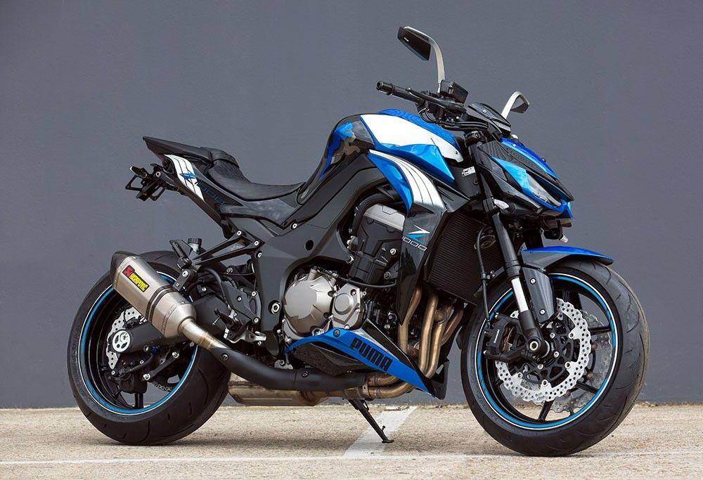 This Kawasaki Z1000 Puma Edition Is A Classic Bike To Ride Kawasaki Z1000 Motorcycle Kawasaki Motorcycles