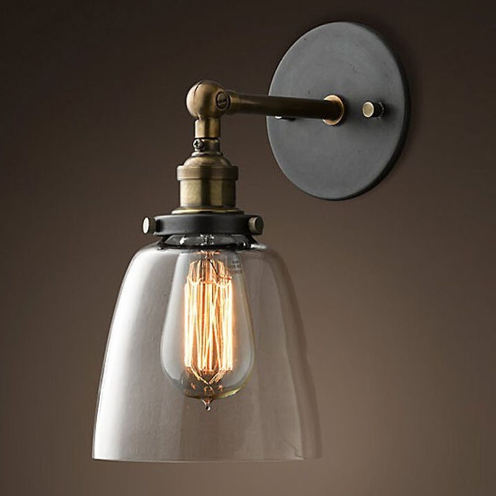 Free Shipping Modern Vintage Industrial Wall Lamp