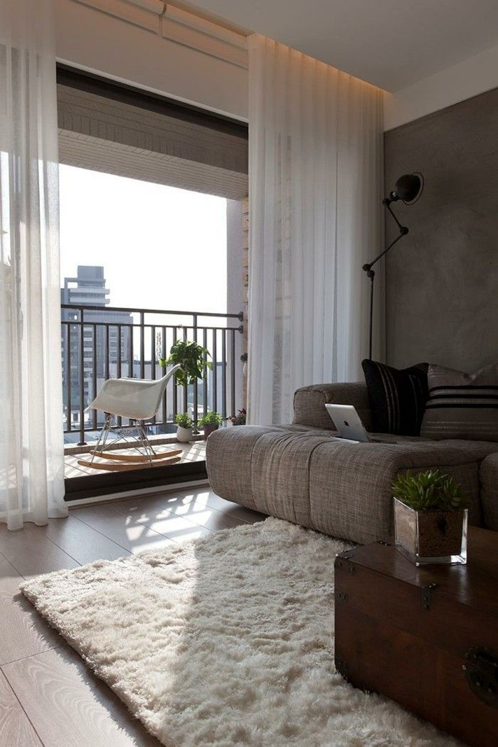 living room curtains ideas airy white BedroomCurtainsElegant