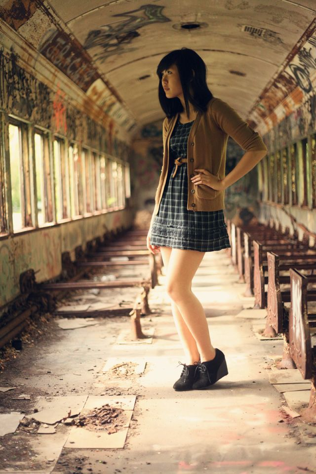 New Blog Post   Exploring an Abandoned Train Car