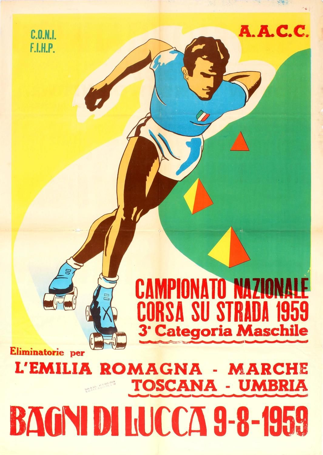 Unknown Original Sport Poster For The National