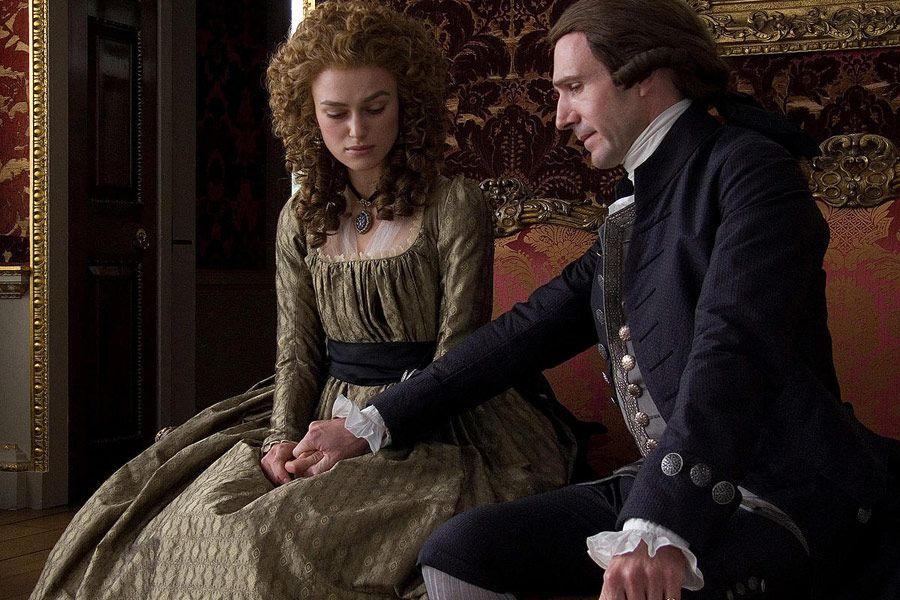 "Ralph Fiennes & Keira Knightley in ""The Duchess"" <3"