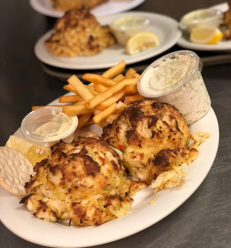 peewees crab cakes delivery