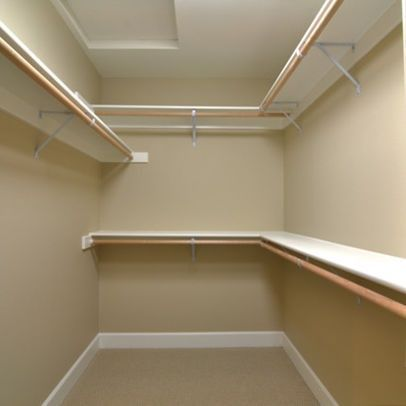 Closet ideas for small walk in closets small walk in Closet layout ideas