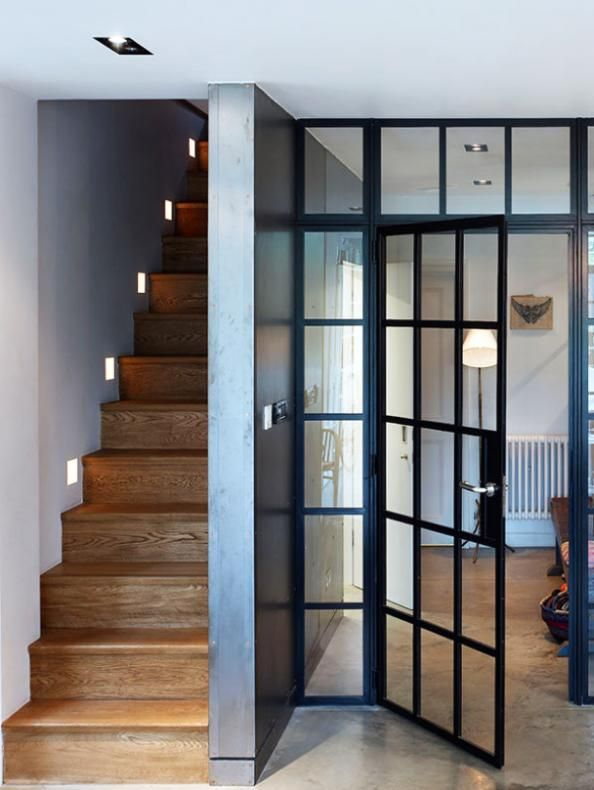 hot sale online 19973 4a4c1 Crittal partition with a swing door is an ultimate interior ...