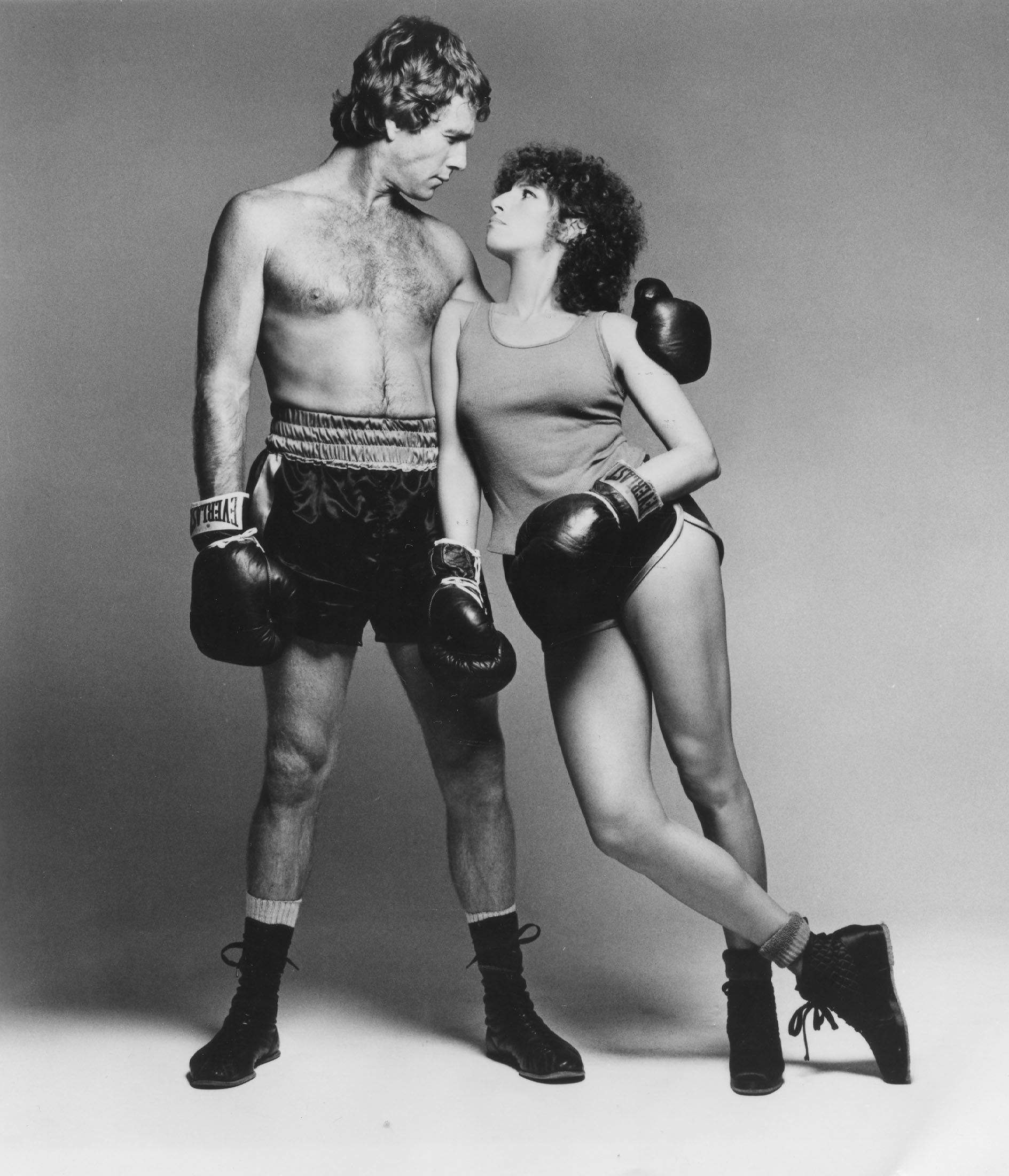 Barbra Streisand Ryan Oneal  1979 film The Main Event