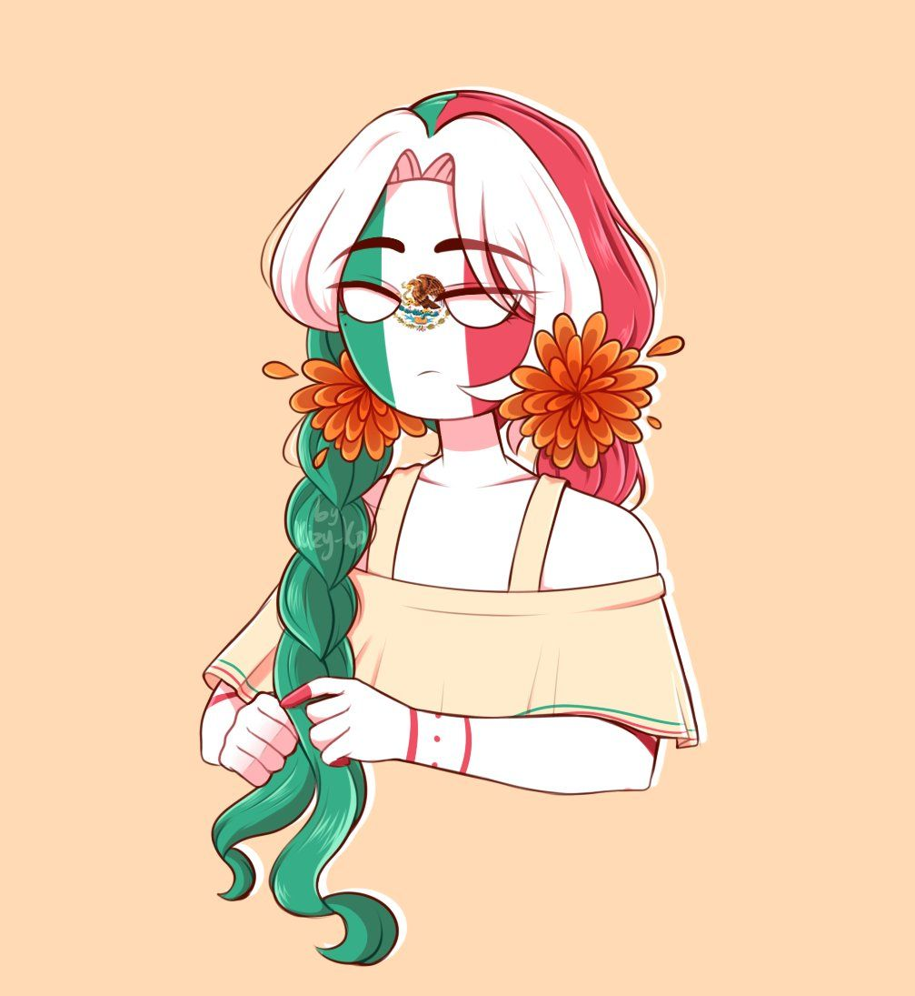 Mexico Countryhumans Wiki Fandom In 2021 Mexico Country Mexico Country Art