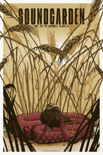 Soundgarden - gig poster