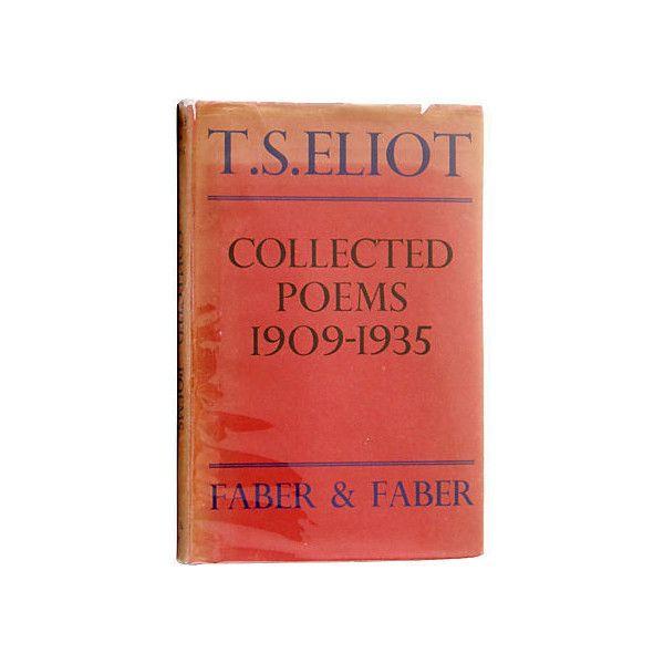 Christopher De Lotbinières Rare Books T S Eliot Collected
