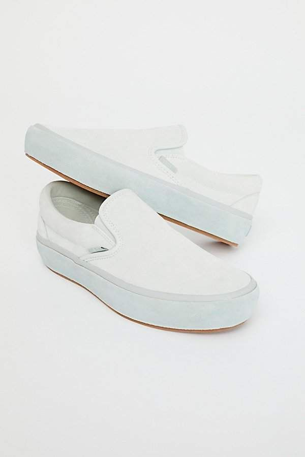 5aa7a9e508a Vans Classic Slip-On Suede Platform Sneaker by at Free People