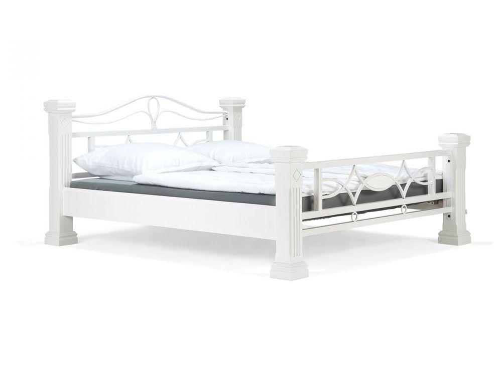 Holzbett weiß Griechisch #Bed #Bett   wwwebayde/itm/Holzbett - schlafzimmer set 180x200