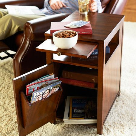 Rvs Side Table.Rv Recliner Side Table Www Improvementscatalog Com